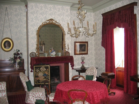 Drawing Room of Commandant's Building at Port Arthur