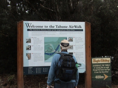 Entrance to the Tahune Airwalk