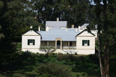 Commondant's quarters at Port Arthur