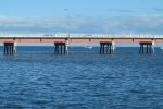The bridge from the mainland to Bribie Island