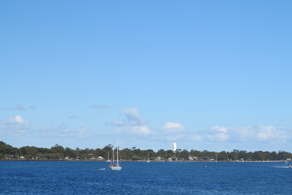 Pumicestone Passage is Bribie Island's popular waterway, even in winter
