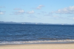 View from Woorim to Moreton Island