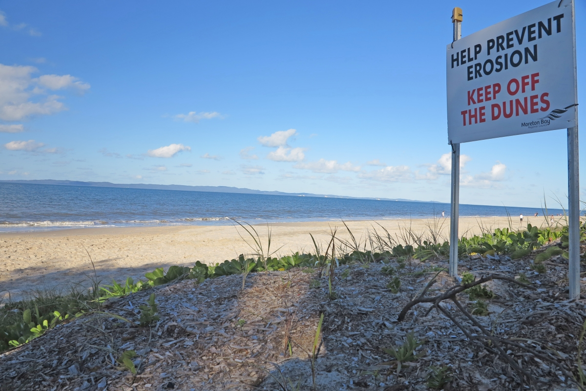 Dogs not welcome on Woorim Beach