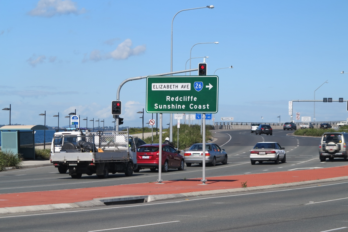 Entrance to Ted Smout bridge at Clontarf