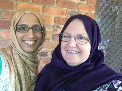 Rehana Bibi and Trina McLellan